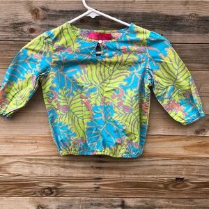 Lilly Pulitzer | Jubilee Girls Palm Top size 6